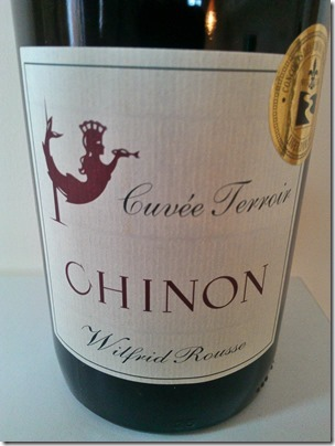 Chinon Cuvée Terroir 2009 from Wilfrid Rousse
