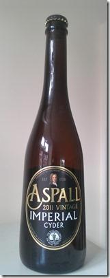 Aspall's 2011 Imperial Cyder