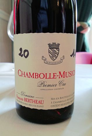 Bertheau Chambolle-Musigny Premier Cru