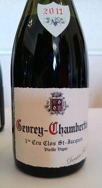 Fourrier Gevrey-Chambertin Premier Cru Clos Saint Jacques