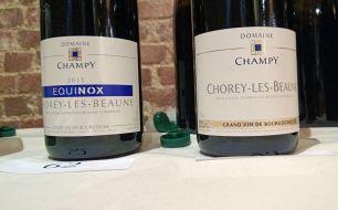 Champy's two Chorey-les-Beaunes