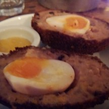 All-day breakfast Scotch eggs