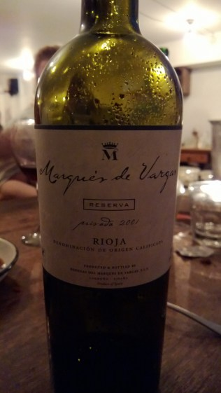 Marques de Vargas Reserva Rioja 2001