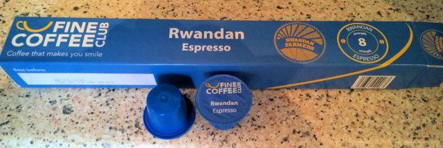 Fine Coffee Club Rwandan espresso