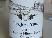 Prum Graacher Himmelreich Kabinett 2015