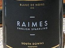 Awful Raimes sparkling wine