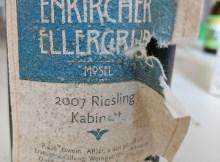 Weiser-Kunstler Riesling Kabinett 2007