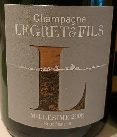 Legret et Fils 2008 Champagne