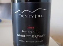 Trinity Hill Tempranillo 2016