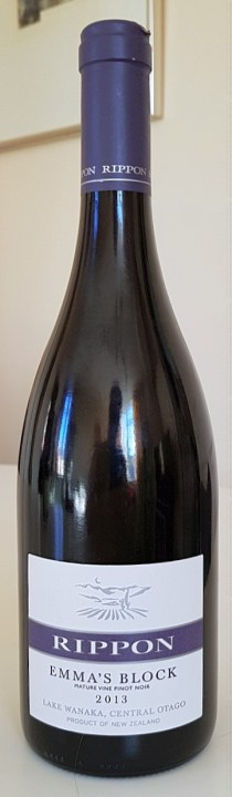 Rippon Emma's Block Pinot 2013