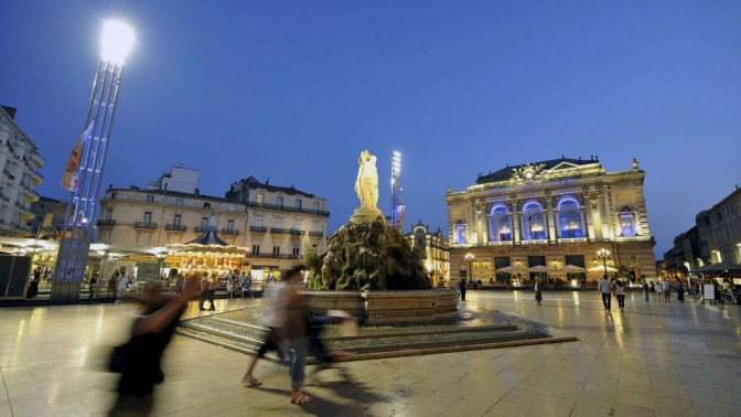 L'immobilier sur la place de la comédie à Montpellier