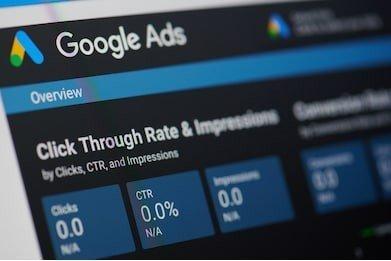Tableau de bord de l'éditeur Google AdSense