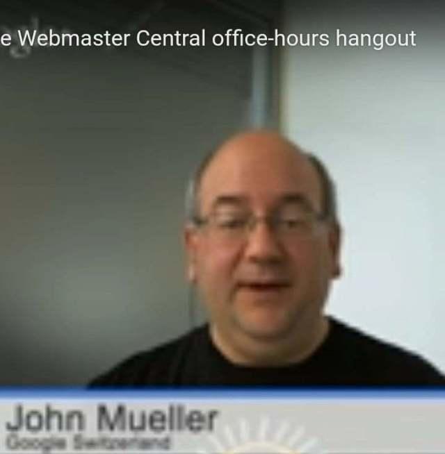 John Mueller parle de backlink sur Google plus