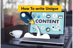 Comment rédiger un contenu unique pour la marque