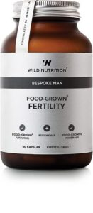 Food grown - Bespoke Man - Fertility er det perfekte kosttilskud til den modne mand der gerne vil have børn. Vitaminerne er lavet af madvarer.