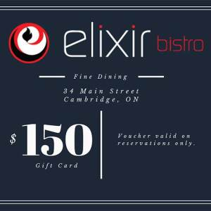 $150 Gift Card to Elixir Bistro