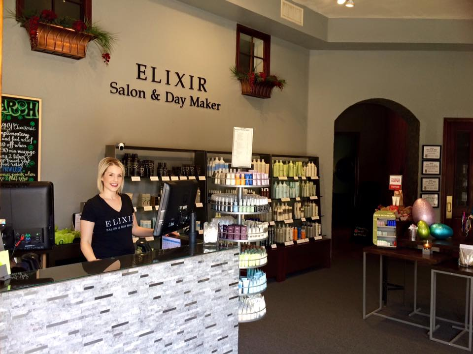 Welcome to Elixir Salon & Day Maker