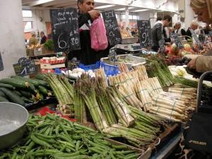 Asparagus Cannes Market