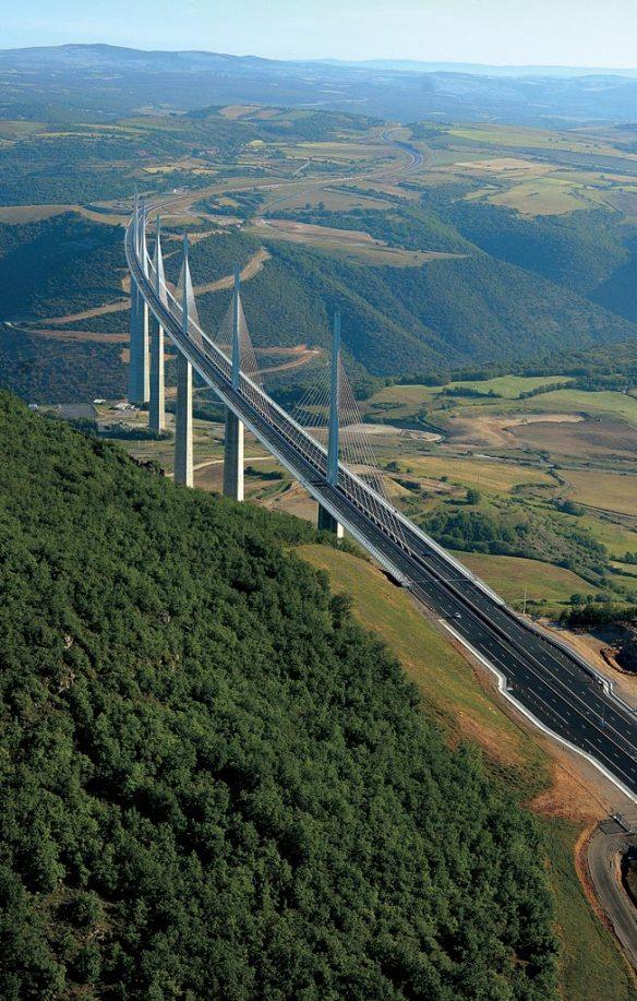 Millau Viaduct Languedoc
