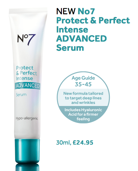 No 7 protect and perfect advanced serum