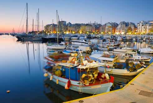 Zea Port in Greece