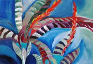 Painting of Bromeliad Divers