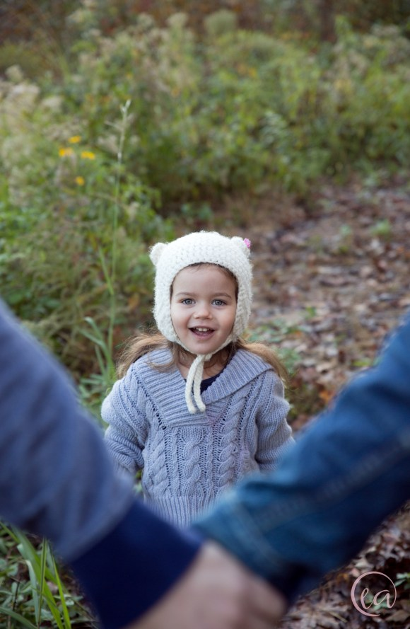 Fall Family Portrait Session in Matthews NC