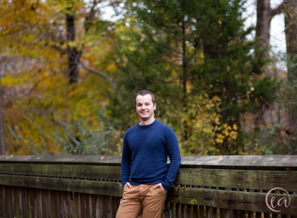 Winter portrait session in Matthews NC