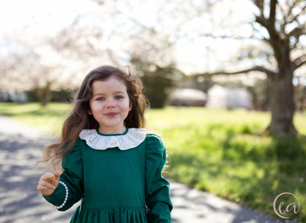 child spring portrait session Matthews NC by Elizabeth A. Images