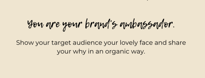 personal branding: you are your brand's ambassador