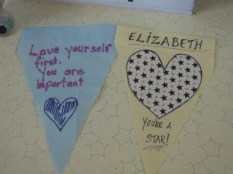 Some sweet pieces of bunting