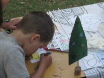 More concentration in colouring in