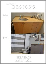DIY How to Paint Ikea Cabinets