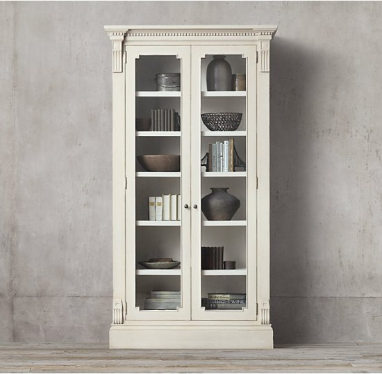 French Country St. James Collection Bookshelf
