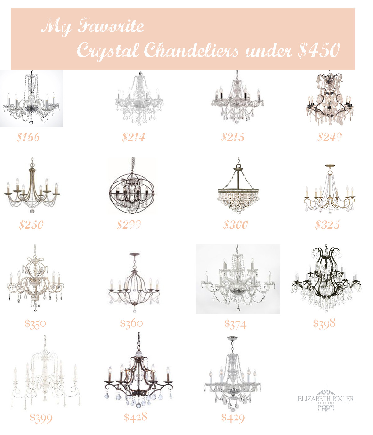 Saay Selections Crystal Chandeliers