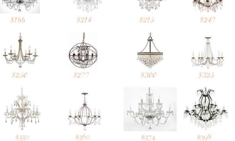 Favorites : Best Crystal Chandeliers under $450