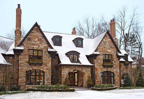 english traditional tudor home architecture design