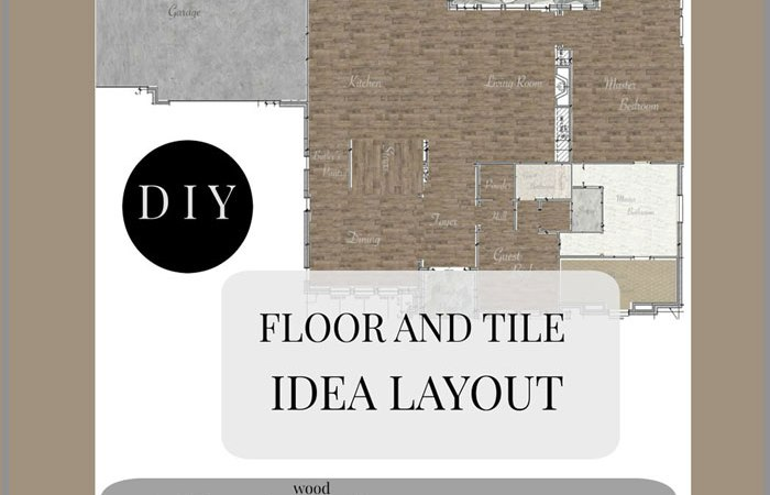 How to Create Digital Tile and Floor Plan Layout