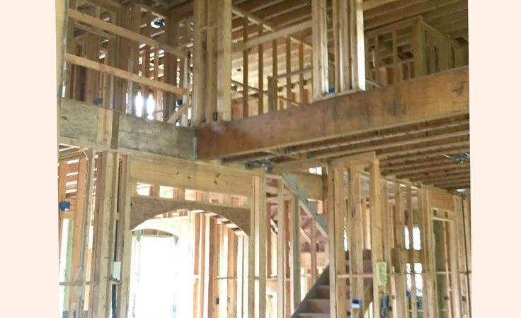 house building lighting and electrical outlets walk-through
