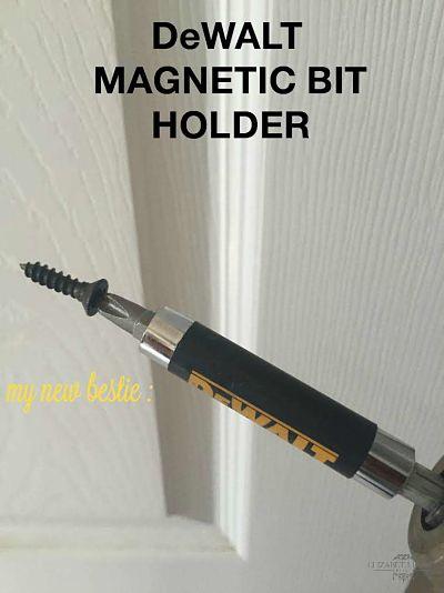 screwdriver magnetic bit holder