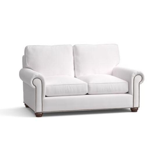 pottery barn webster upholstered sofa