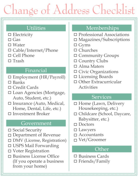 change-of-address-checklist