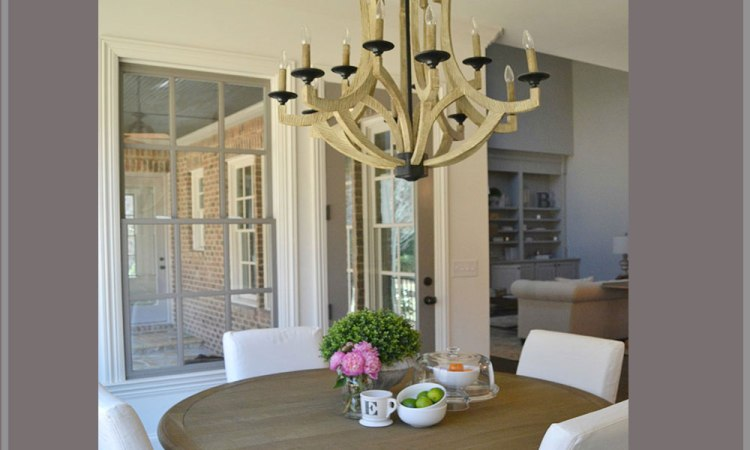 elizabeth bixler designs airy open space breakfast nook dining room