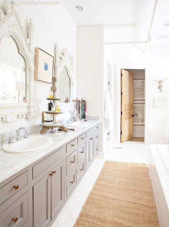 Arched Bathroom Mirrors