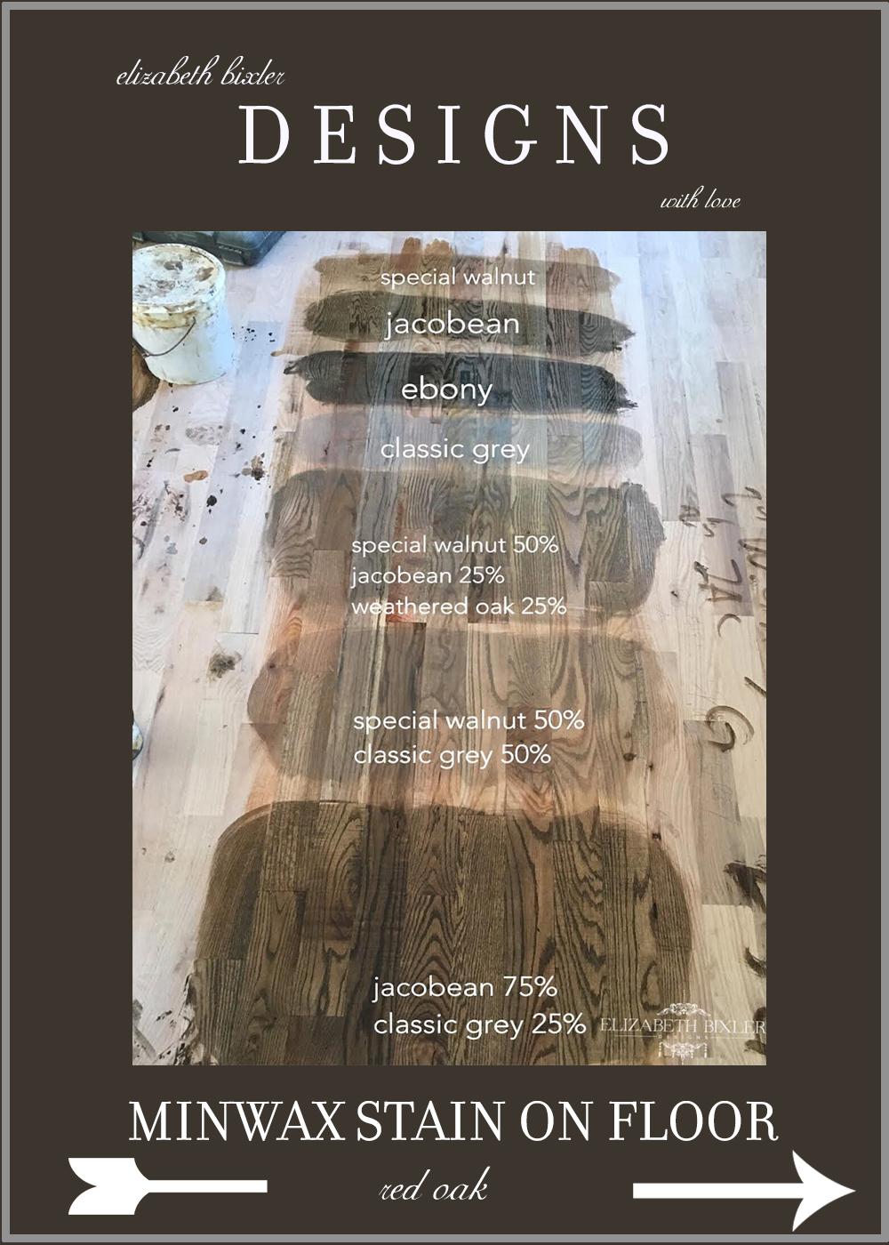 Minwax Stain On Red Oak Floors And Douglas Fir Match