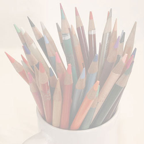 pencils in a cup