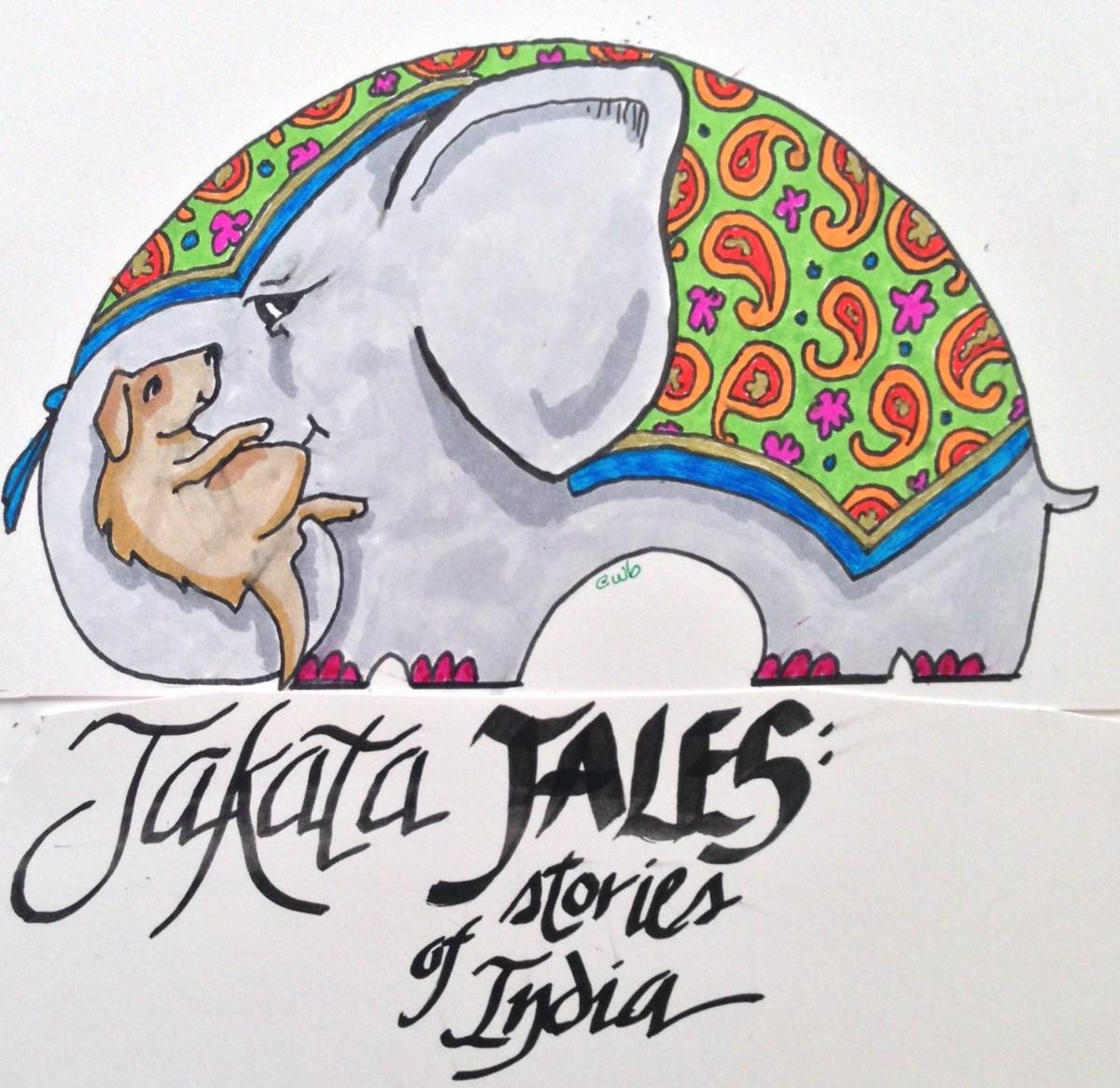 Alternate Illustration for podcast for kids; Prismacolor markers on Bristol Board