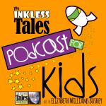 podcast logo: InklessTales podcast for kids