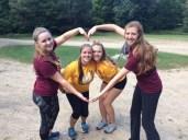 Katie, Emily, Sadie and I