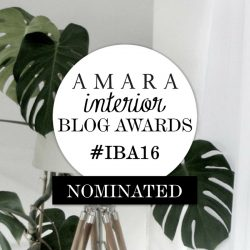 EDIT featured in Amara Interior Blog Awards